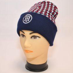 Стильная шапка Hilfiger для мальчиков 10 лет 11 лет 12 лет 13 лет 14 лет, шерсть+акрил, Турция.