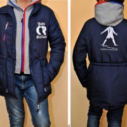 Модная стильная демисезонная куртка-парка Galliano для мальчиков 7 лет  8 лет 9 лет 10 лет 11 лет