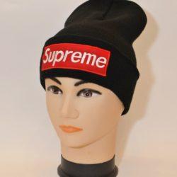 Модная трендовая шапка Supreme для мальчиков 8 лет 9 лет 10 лет 11 лет 12 лет 13 лет 14 лет 15 лет. Турция, шерсть+акрил