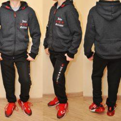 Брендовый утеплённый спортивный костюм Galliano на флисе для мальчиков 8 лет 9 лет 10 лет 11 лет 12 лет 13 лет