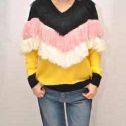 Модный женский свитер, Италия, размер универсальный. Мягкий, приятный к телу