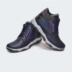 Модные зимние кожаные ботинки Hilfiger для мальчиков 32 размер 33 размер 34 размер 35 размер 36 размер 37 размер 38 размер 39 размер. Верх-натуральная кожа, утеплитель-нат.шерсть, мягкие, тёплые. Подошва толстая, супинатор