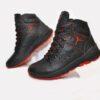 Модные зимние мужские кожаные ботинки Jordan 40 размер 41 размер 42 размер 43 размер 44 размер 45 размер. Верх-натуральная кожа, утеплитель-нат.шерсть, мягкие, тёплые. Подошва толстая, супинатор
