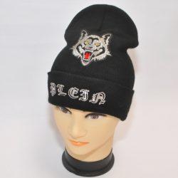 Модная трендовая шапка Philipp Plein  для мальчиков 8 лет 9 лет 10 лет 11 лет 12 лет 13 лет 14 лет 15 лет. Турция, шерсть+акрил