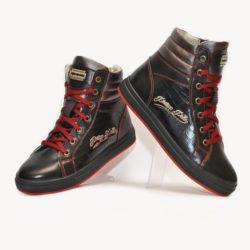 Модные зимние  кожаные ботинки Philipp Plein для мальчиков  32 размер 33 размер 34 размер 35 размер 36 размер 37 размер 38 размер 39 размер. Полностью натуральная кожа, утеплитель шерсть, толстая подошва, супинатор, Турция!