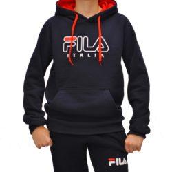 Трендовая утеплённая спортивная кофта FILA на флисе для мальчиков 12 лет 13 лет 14 лет 15 лет. Турция