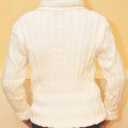 Модный стильный брендовый свитер Philipp Plein на мальчика 11-14 лет. Шерсть+акрил, не колючий