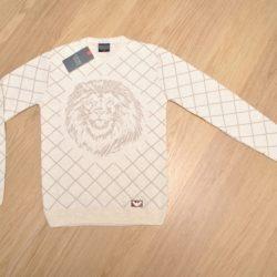 Стильный свитер Armani для мальчиков 11-15 лет. Турция, смешанный состав, мягенький , приятный к телу