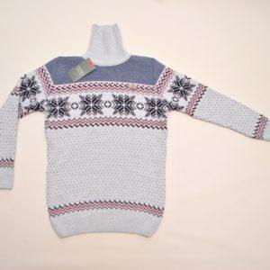 Стильный свитер-гольф   Armani со снежинками  на мальчиков 10-14 лет. Шерсть+акрил, тёплый ,мягкий, не колючий. Турция, отличное качество!