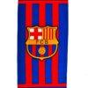 Модное махровое полотенце FC Barcelona ФК Барселона. Турция, хлопок. 140*70 см