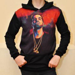 Трендовое худи Drake для мальчиков 10 лет 11 лет 12 лет 13 лет 14 лет 15 лет 16 лет, Турция