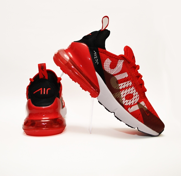 3fdbe03b Трендовые кроссовки Nike Supreme Airmax 270 Flyknit для мальчиков 36 размер  37 размер 38 размер 39 размер 40 размер, Вьетнам