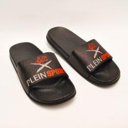 Модные брендовые шлёпки сланцы Plein для мальчиков 36 размер 37 размер 38 размер 39 размер 40 размер 41 размер