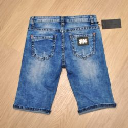 Джинсовые шорты Philipp Plein для мальчиков  7 лет 8 лет 9 лет 10 лет 11 лет 12 лет 13 лет 14 лет