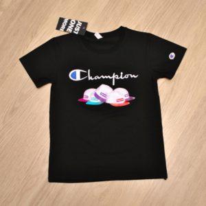 Модная детская футболка Champion для мальчика 10-14 лет. Турция,хлопок,отличное качество!