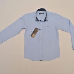 Стильная брендовая голубая школьная рубашка Armani для мальчиков 10 лет 11 лет 12 лет 13 лет 14 лет. Турция, хлопок, отличное качество!