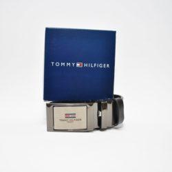 Кожаный детский  ремень Tommy Hilfiger с двухсторонней пряжкой в подарочной коробке. Турция, кожа