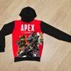 Утеплённое худи Apex Legends на флисе для мальчиков 6 лет 7 лет 8 лет 9 лет 10 лет 11 лет 12 лет 13 лет 14 лет
