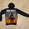 Утеплённое худи Call of Duty на флисе для мальчиков 6 лет 7 лет 8 лет 9 лет 10 лет 11 лет 12 лет 13 лет 14 лет