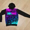 Утеплённое худи Fortnite neon  Фортнайт неон  на флисе  для мальчиков 6 лет 7 лет 8 лет 9 лет 10 лет 11 лет 12 лет 13 лет 14 лет