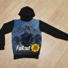Худи Fallout 76 фолаут 76 для мальчиков 6 лет 7 лет 8 лет 9 лет 10 лет 11 лет 12 лет 13 лет 14 лет
