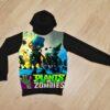 Худи Plants vs Zombies растения и зомби для мальчиков 6 лет 7 лет 8 лет 9 лет 10 лет 11 лет 12 лет 13 лет 14 лет