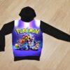 Худи Покемон Pokemon для мальчиков 6 лет 7 лет 8 лет 9 лет 10 лет 11 лет 12 лет 13 лет 14 лет. Манга. Анимэ. Эш. Сатоси. Пикачу. Бульбазавр. Чармандер. Сквиртл.