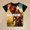 Футболка Max Payne 3 Макс Пэйн 3 для мальчиков 6 лет 7 лет 8 лет 9 лет 10 лет 11 лет 12 лет 13 лет 14 лет