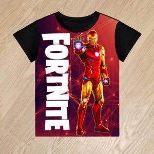 Футболка Fortnite Iron Man для мальчиков 6 лет 7 лет 8 лет 9 лет 10 лет 11 лет 12 лет 13 лет 14 лет