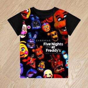 Футболка Five Nights at Freddy's для мальчиков 6 лет 7 лет 8 лет 9 лет 10 лет 11 лет 12 лет 13 лет 14 лет