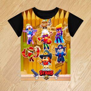 Футболка Банда Золотой Руки Brawl Stars Goldhand Gang для мальчиков 6 лет 7 лет 8 лет 9 лет 10 лет 11 лет 12 лет 13 лет 14 лет . Банда Золотой Руки. Goldhand Gang.