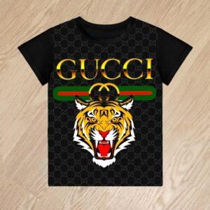Футболка Gucci с тигром для мальчиков 6 лет 7 лет 8 лет 9 лет 10 лет 11 лет 12 лет 13 лет 14 лет