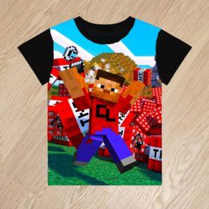 Футболка Minecraft Майнкрафт для мальчиков 6 лет 7 лет 8 лет 9 лет 10 лет 11 лет 12 лет 13 лет 14 лет