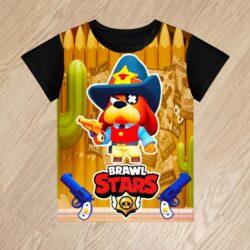 Футболка Шериф Гавс Маршал Гавс Brawl Stars для мальчиков 6 лет 7 лет 8 лет 9 лет 10 лет 11 лет 12 лет 13 лет 14 лет . Банда Золотой Руки. Goldhand Gang.