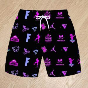 Плавательные шорты Fortnite неон для мальчиков 6 лет 7 лет 8 лет 9 лет 10 лет 11 лет 12 лет 13 лет 14 лет