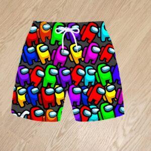 Плавательные шорты Among Us для мальчиков 6 лет 7 лет 8 лет 9 лет 10 лет 11 лет 12 лет 13 лет 14 лет