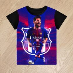 Футболка Месси Messi для мальчиков 6 лет 7 лет 8 лет 9 лет 10 лет 11 лет 12 лет 13 лет 14 лет