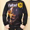 Трендовый свитшот  Fallout 76 для мальчиков 10 лет 11 лет 12 лет 13 лет 14 лет 15 лет 16 лет, Турция.