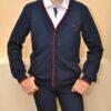 Стильный брендовый школьный кардиган Fendi для мальчика 10 лет 11 лет 12 лет 13 лет 14 лет 15 лет