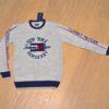Стильный  брендовый свитер Tommy Hilfiger для мальчиков 10-14 лет. Шерсть+акрил, мягкий, приятный на ощупь, Турция