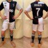 Детская футбольная форма Ювентус/Juventus ( Италия, Серия А ), домашняя, сезон 2019-2020 для мальчиков 4-14 лет