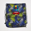 Детская сумка-мешок для сменки  Brawl Stars. 2 отделения. 46*37 см