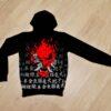 Утеплённое худи Cyberpunk 2077 Keanu Reeves Samurai 6 лет 7 лет 8 лет 9 лет 10 лет 11 лет 12 лет 13 лет 14 лет