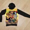 Худи One Piece Monkey D Luffy для мальчиков 6 лет 7 лет 8 лет 9 лет 10 лет 11 лет 12 лет 13 лет 14 лет