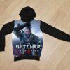 Худи Witcher the wild hunt 6 лет 7 лет 8 лет 9 лет 10 лет 11 лет 12 лет 13 лет 14 лет , Турция