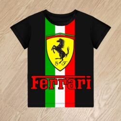 Футболка Ferrari Феррари для мальчиков 6 лет 7 лет 8 лет 9 лет 10 лет 11 лет 12 лет