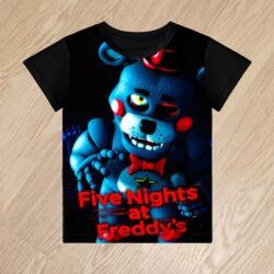 Футболка Five Nights at Freddys для мальчиков 6 лет 7 лет 8 лет 9 лет 10 лет 11 лет 12 лет 13 лет 14 лет