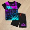 Летний костюм футболка и шорты Fortnite для мальчиков 6 лет 7 лет 8 лет 9 лет 10 лет 11 лет 12 лет 13 лет 14 лет