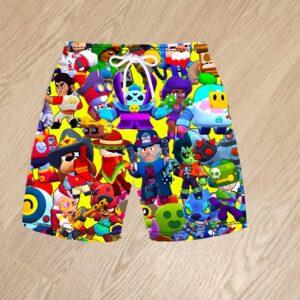 Плавательные шорты Brawl Stars для мальчиков 6 лет 7 лет 8 лет 9 лет 10 лет 11 лет 12 лет