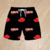 Плавательные шорты Наруто Naruto Akatsuki для мальчиков 6 лет 7 лет 8 лет 9 лет 10 лет 11 лет 12 лет 13 лет 14 лет